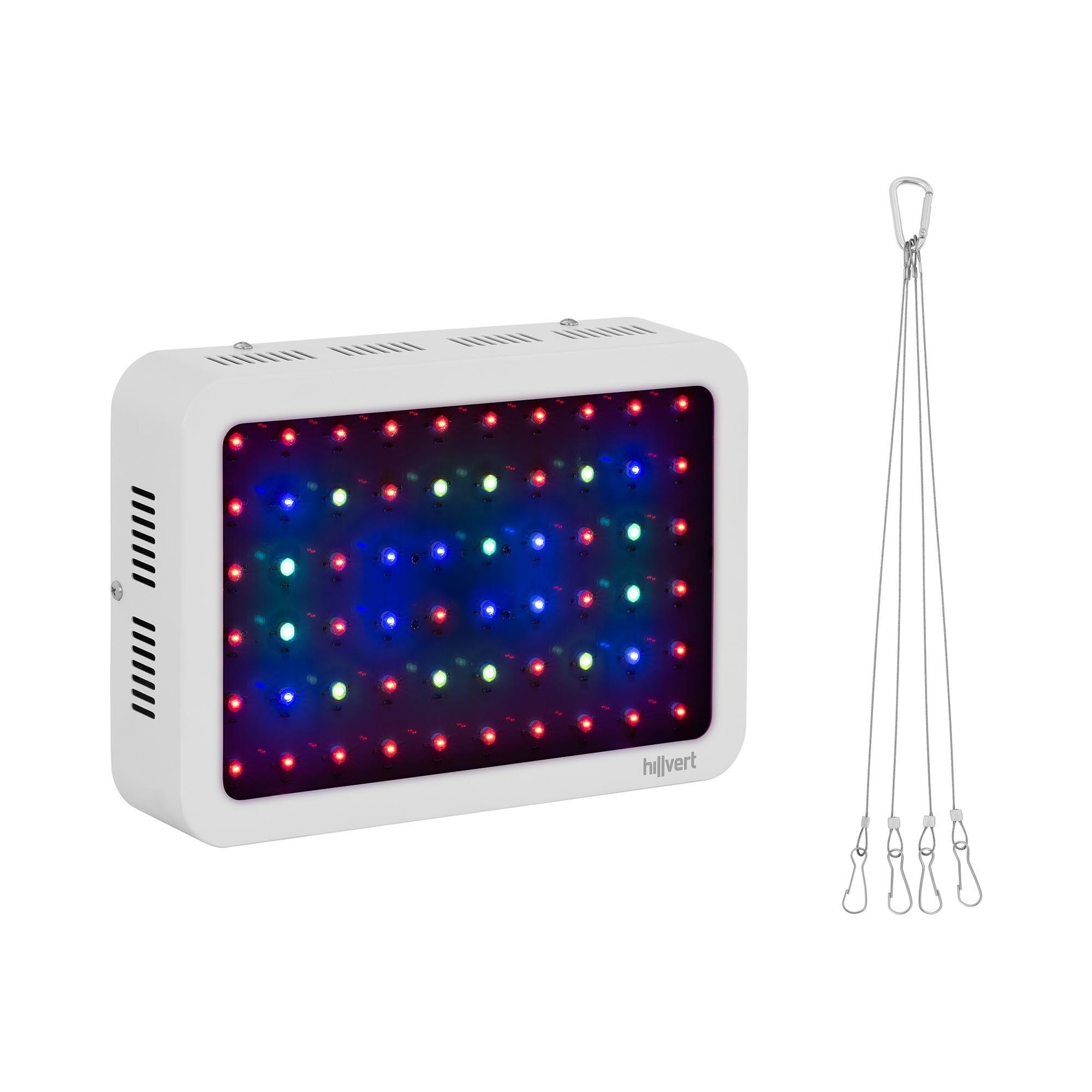 hillvert lampada per piante led - 600 w - 2.913 lumen ht-wedge-600