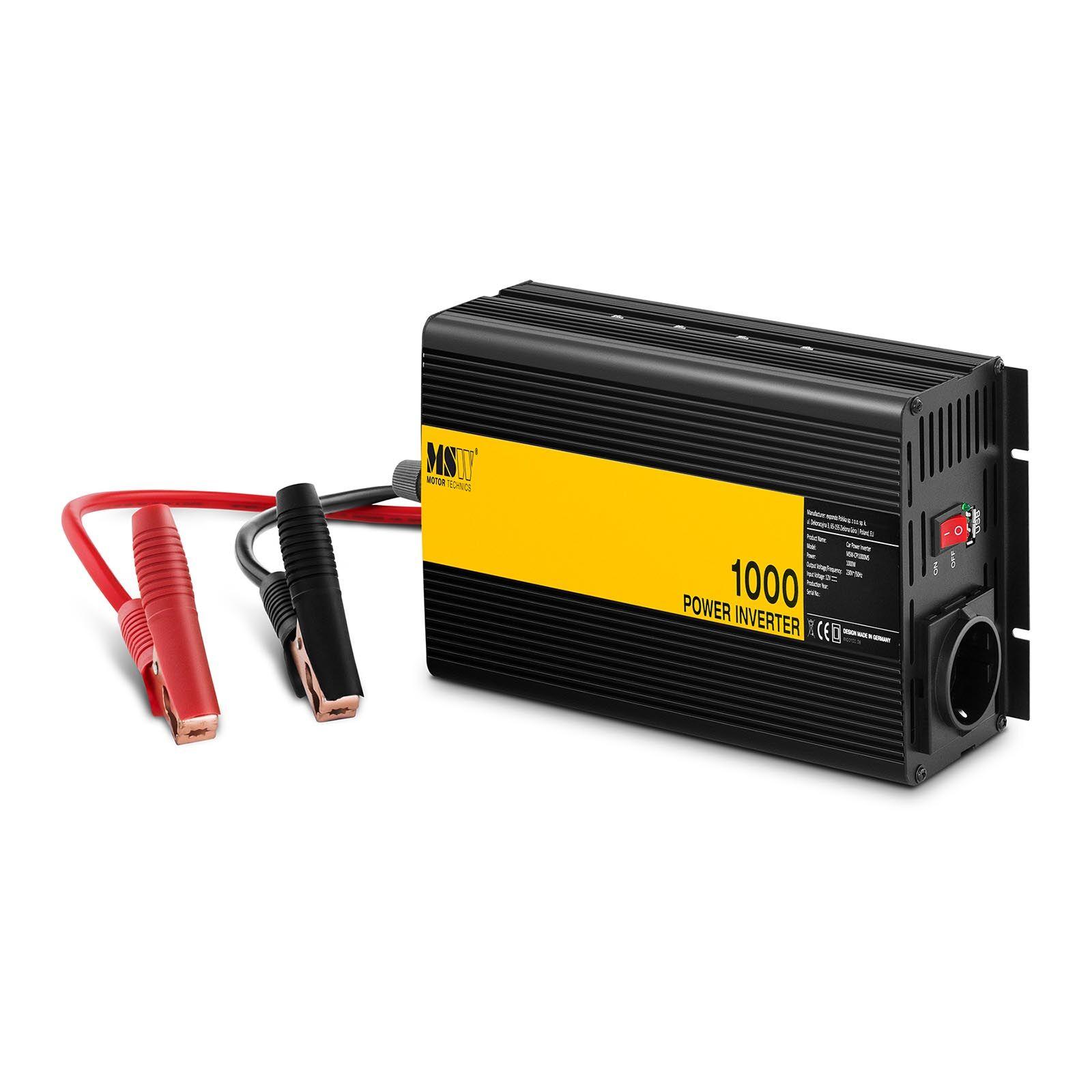 MSW Inverter per auto - 1000 W -CPI1000MS