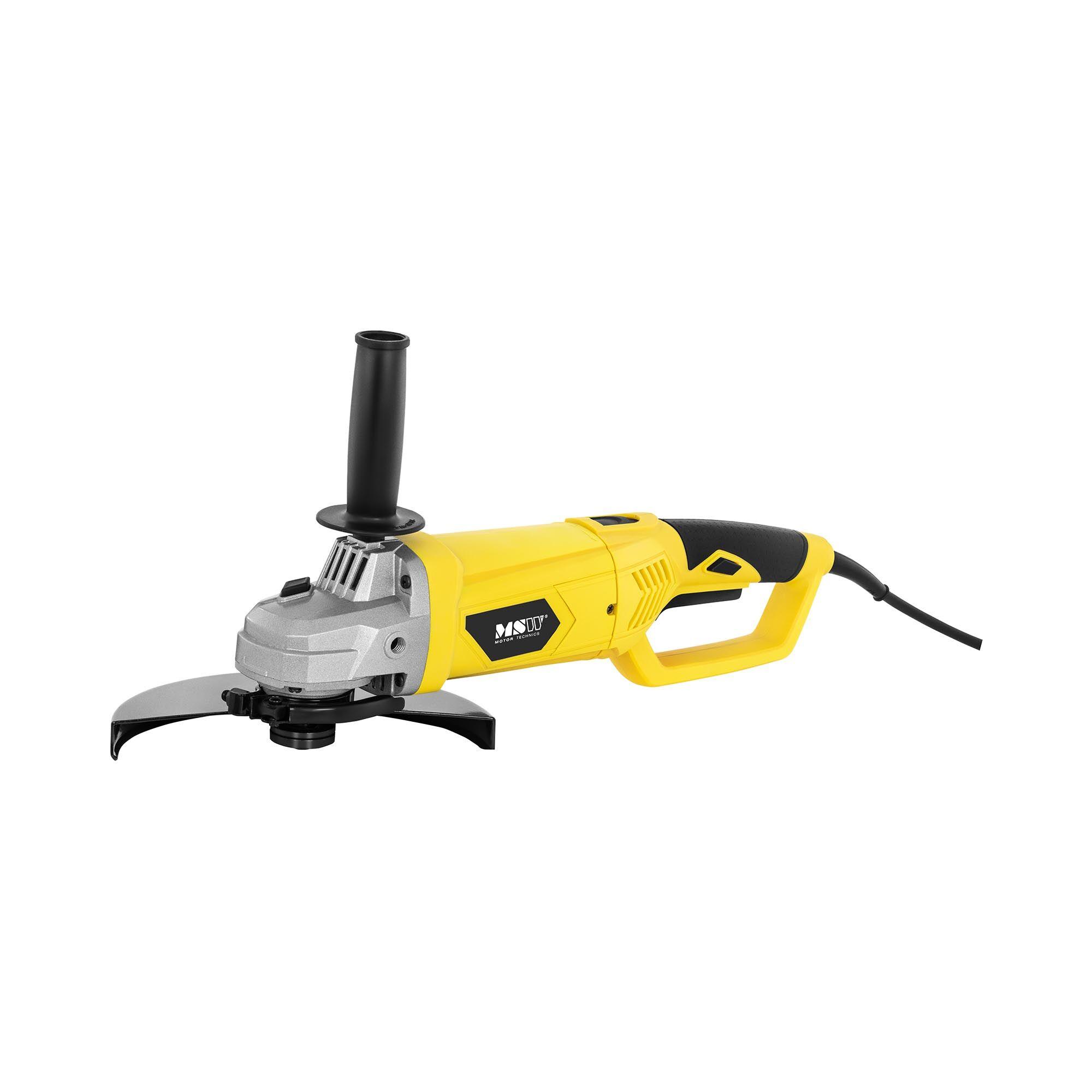 msw smerigliatrice angolare- 2.200 w - Ø 230 mm - 6.300 giri/min - per uso professionale