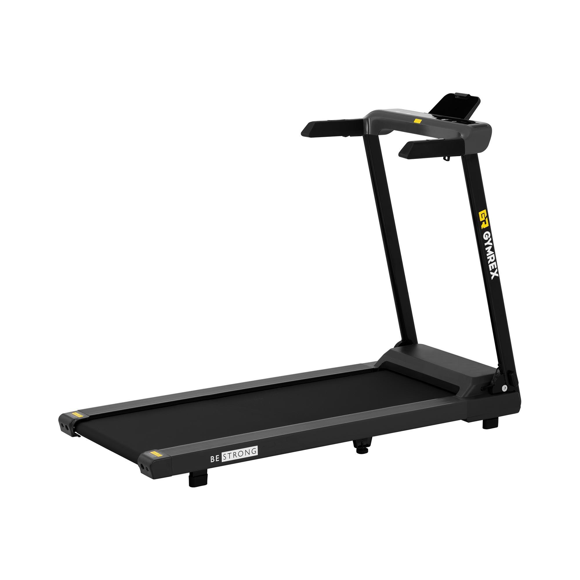 gymrex tapis roulant pieghevole - 1.200 w - da 1,5 a 10,2 km/h - 120 kg gr-hg12