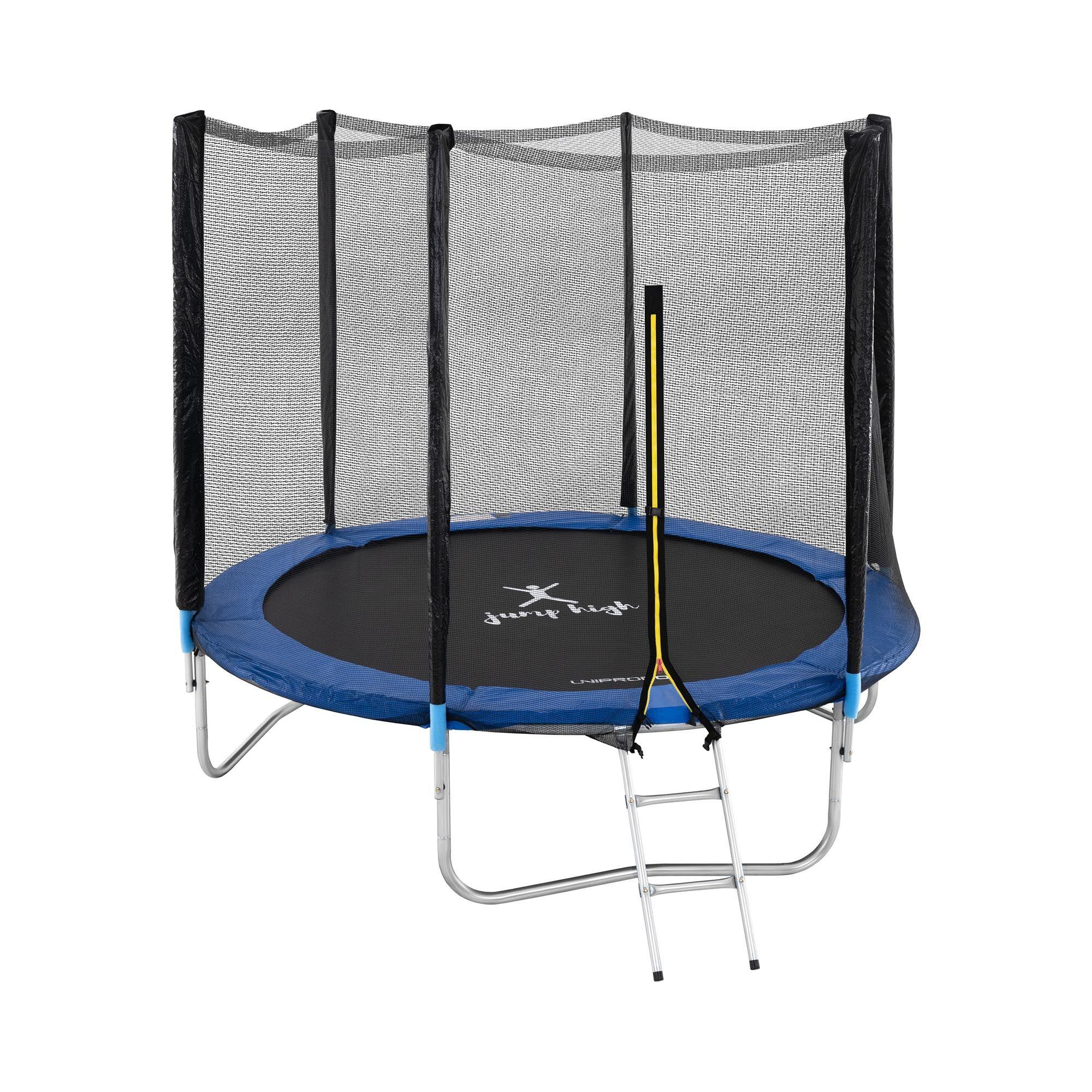 uniprodo tappeto elastico bambini - Ø 240 cm - rete uni_trampoline_04