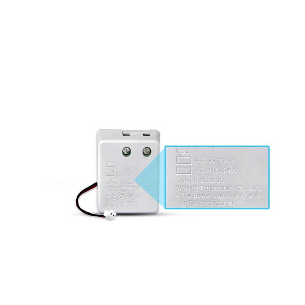 mi-light mini alimentatore per dimmer touch da parete - compatibile con 503