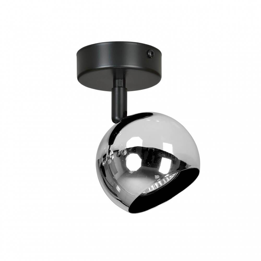 lampadario orientabile elektra 1 chrom