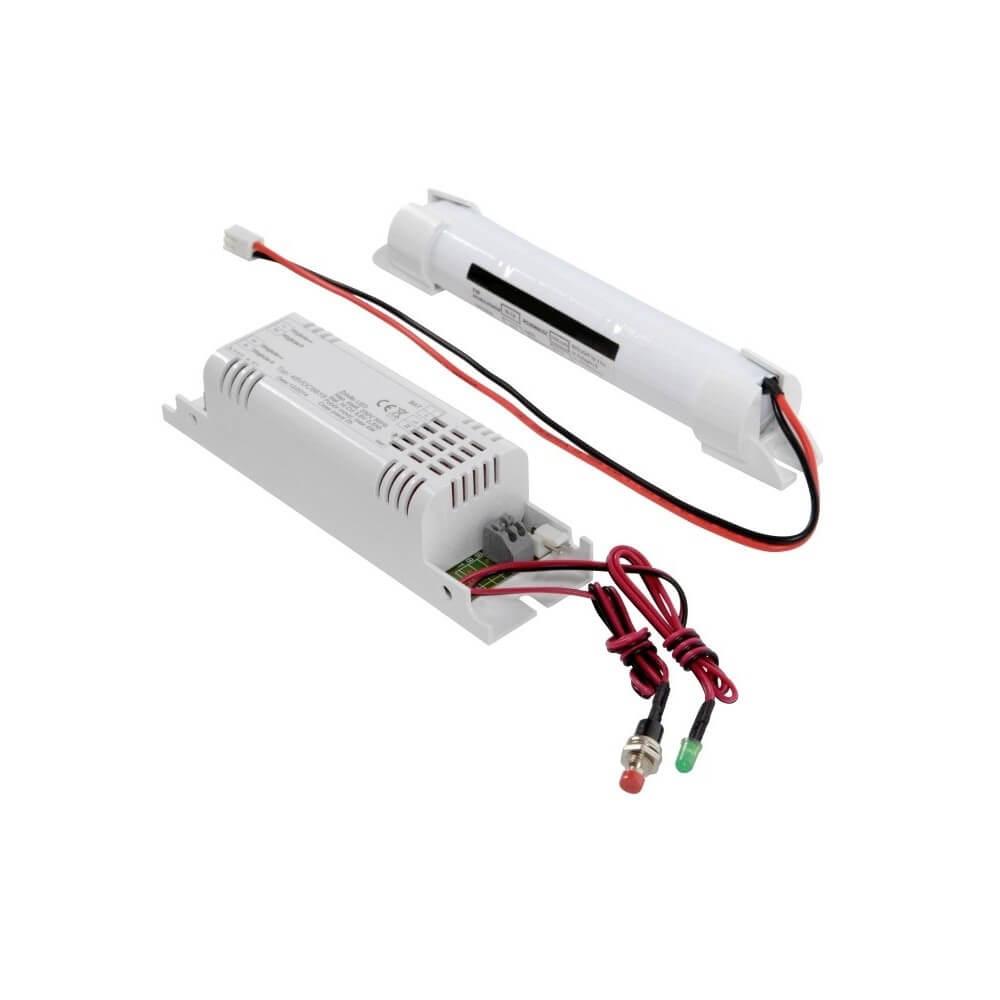 intelight sp z o o. modulo di emergenza pannelli led con driver 0-12v fino a 50w, aut. 2h - professional