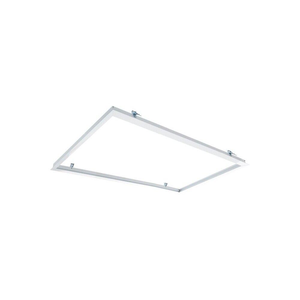 LEDDIRETTO Cornice da incasso 120x60 per cartongesso per pannelli LED