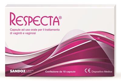 Sandoz Respecta 10 Capsule Ad Uso Orale Per Vaginiti E Vaginosi
