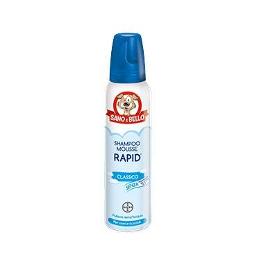 Bayer Animali Bayer Pet Linea Animali Domestici Sano E Bello Cani Rapid Shampoo Secco 300 Ml
