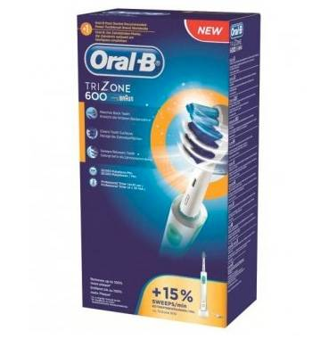 oral-b linea igiene dentale quotidiana trizone 600 spazzolino elettrico