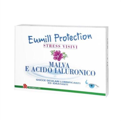 Recordati Linea Benessere Occhi Eumill Protection Collirio 10 Flaconcini Monodos