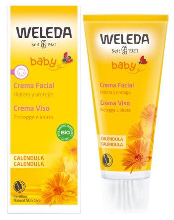 Weleda Baby Crema Viso Calendula 50 Ml