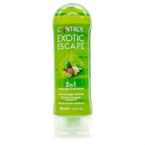 Control Linea Piacere Coppia 2in1 Massage & Pleasure Gel Exotic Escape 200 ml