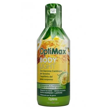 Optima Naturals Linea Drenante Depurativa OptiMax Body Light Integratore 500 ml