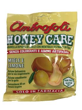 Gb Ambrosoli Honey Care Miele E Limone 90 G