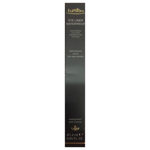 euphidra make-up euphidra linea trucco base occhi eye liner waterproof colore ep01 extra nero