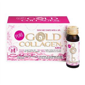 Minerva Labs Linea Pelle Giovane Gold Collagen® Pure Integratore 10 Flaconcini