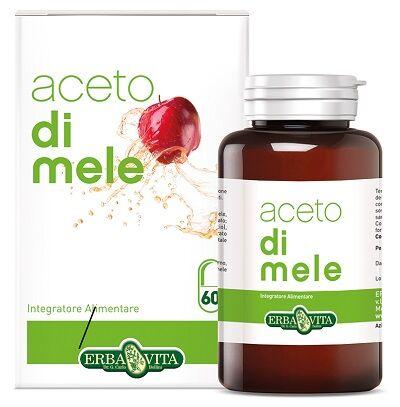 Erba Vita Aceto Mele 60 Capsule 550 Mg