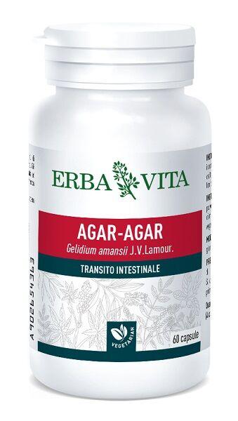 Erba Vita Agar Agar 60 Capsule 500 Mg