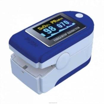 Intermed Saturimetro portatile da dito Pulsossimetro blu