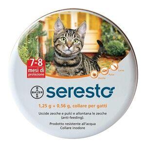 Bayer spa (div.sanita'animale) Bayer Seresto Collare Antiparassitario per Gatti