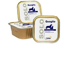 Drn Solo Quaglia Cani/gatti 100g