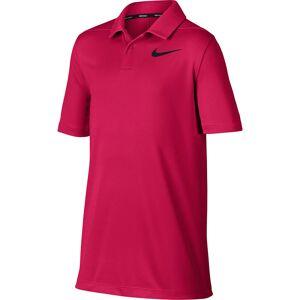 NikeGolf Polo Nike Golf Classic Dry Pique, maschile, Rush Pink/White/Burgundy Crush, S