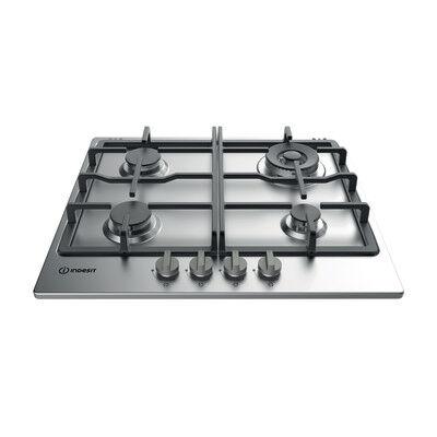 Indesit Piastra di cottura a gas 56.0 cm INDESIT THP 641 W/IX/I