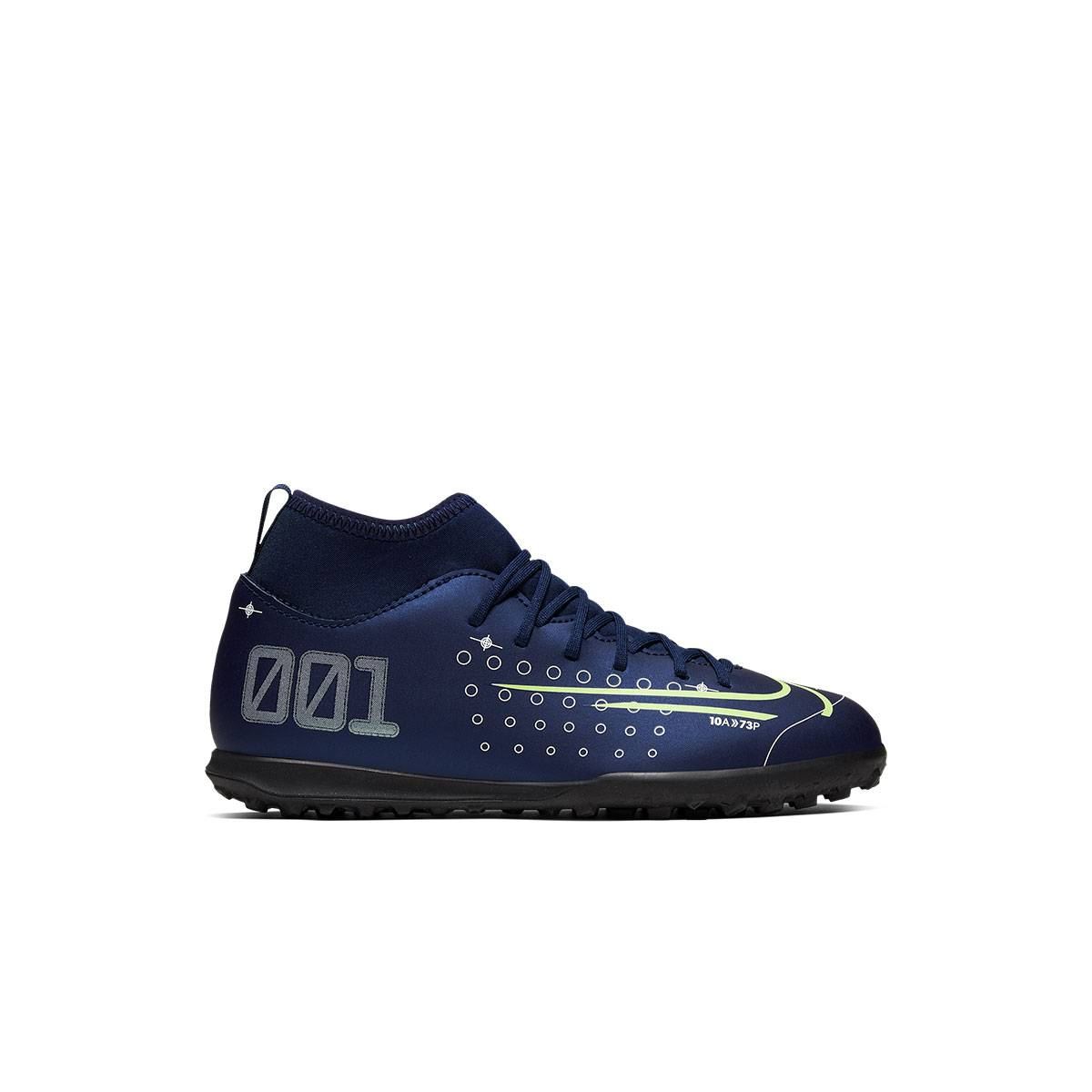 Nike Superfly 7 Club Mds TF Blu Bambino - 38.5 - Bambino