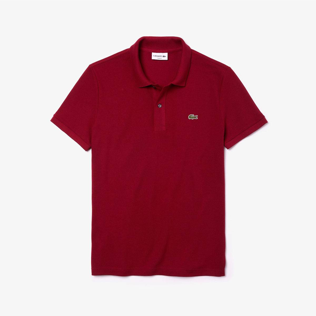 Lacoste Polo Uomo Slim Fit M/M Bordeaux - II - Uomo