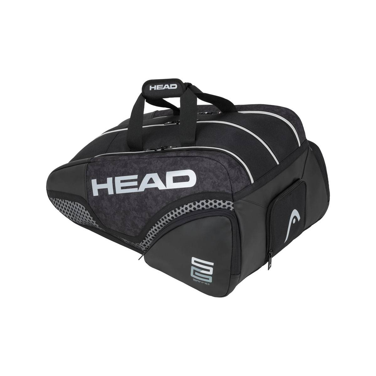 Head Borsa Padel Alpha Sanyo Monstercombi Black - Unisex