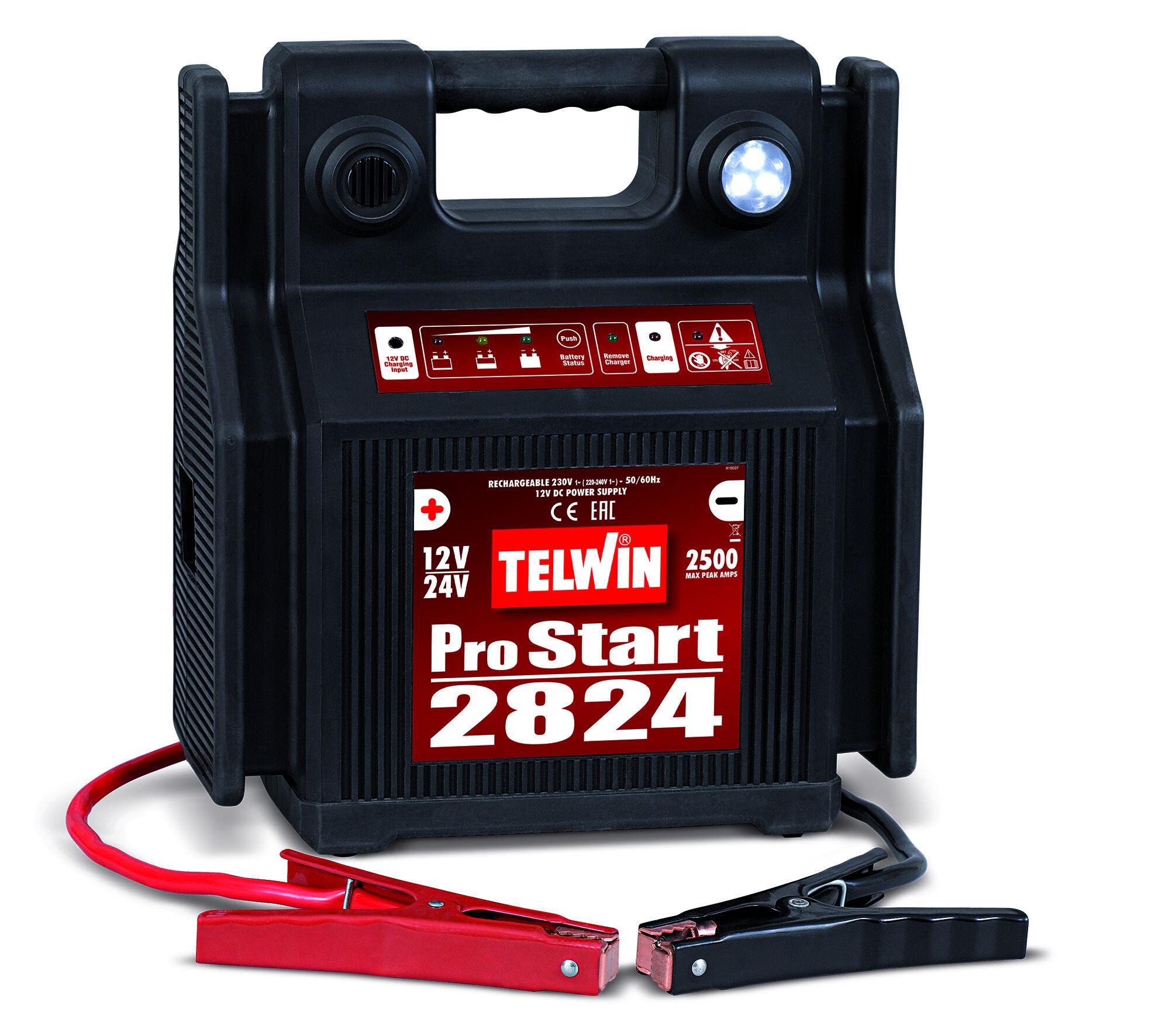telwin avviatore a batteria telwin pro start 2824