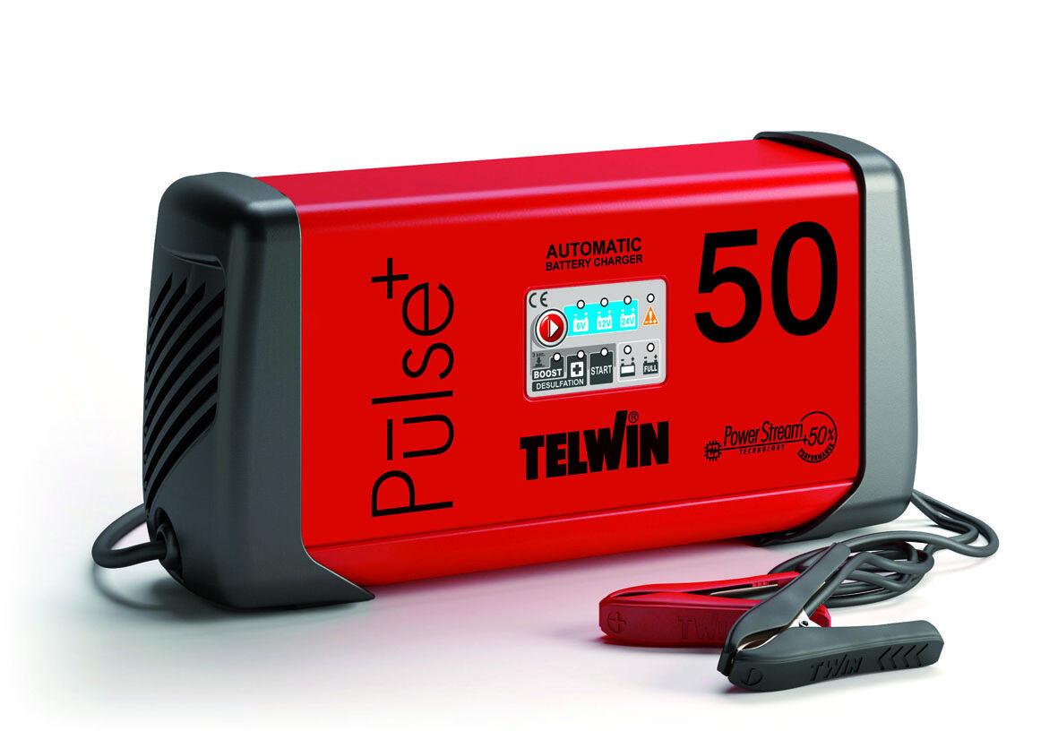 Telwin Caricabatterie mantenitore elettronico Telwin Pulse 50