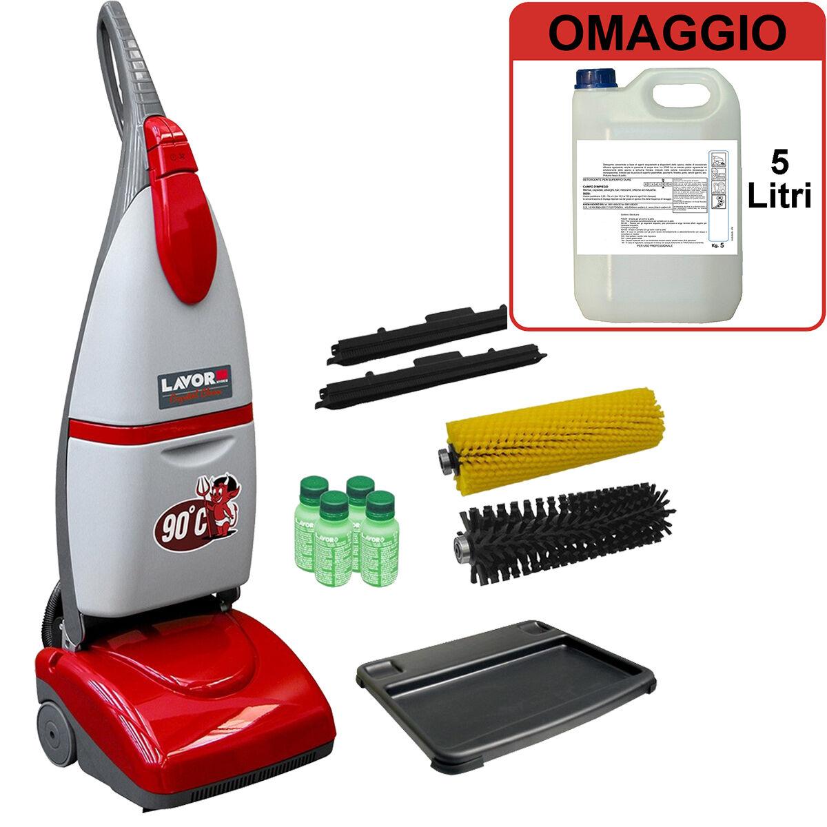 lavor pro lavasciuga e lavapavimenti lavor pro crystal clean + omaggio