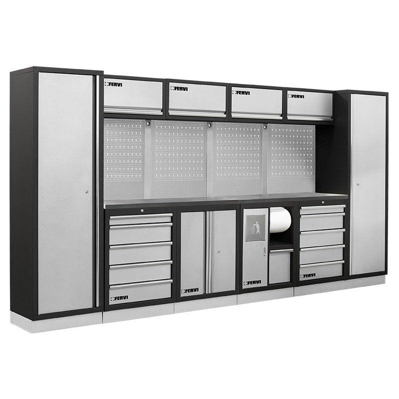 Fervi Arredamento modulare per officina Fervi A008B