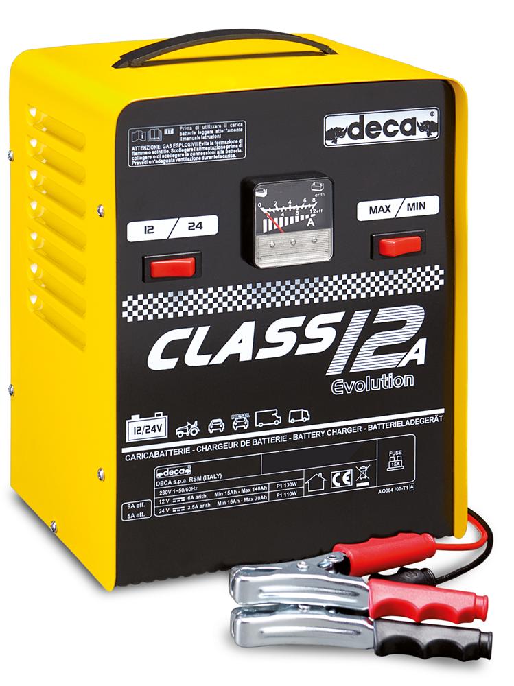 deca caricabatterie elettromeccanico 12-24v deca class 12a