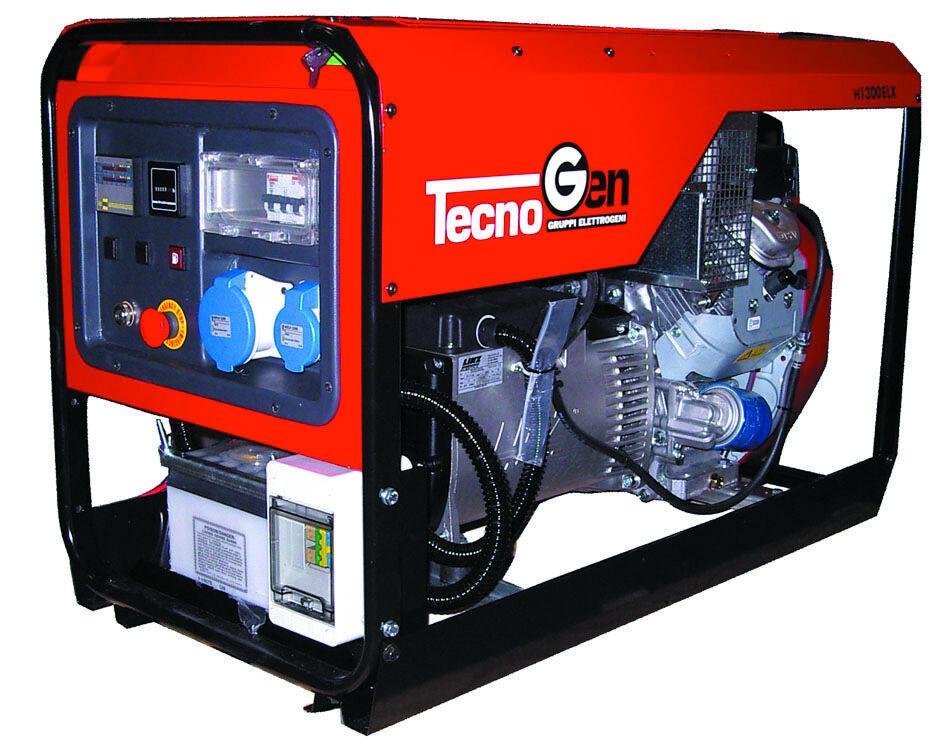 tecnogen generatore di corrente tecnogen h13000elx con avr