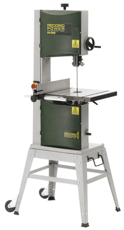 record power sega a nastro verticale per legno record power bs300e premium