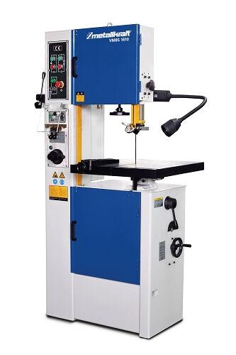 metalkraft sega a nastro verticale per metalli con unità di saldatura metallkraft vmbs 1610