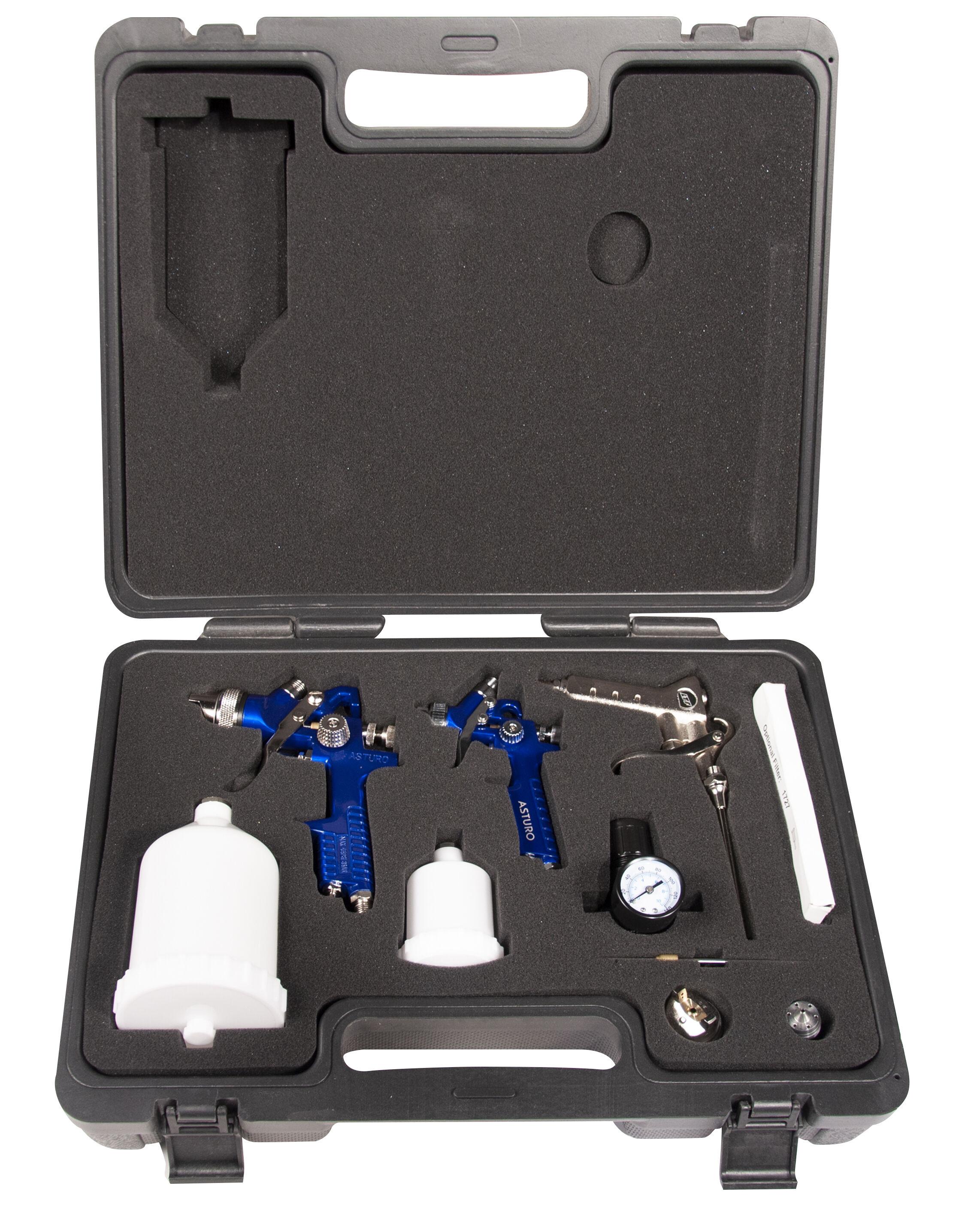 asturo kit aerografo manuale superiore a bassa pressione asturo h827 h2000 / kit 0090517k