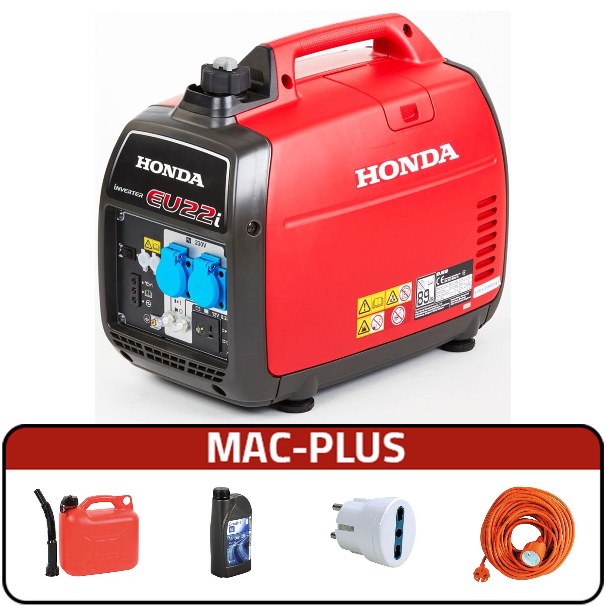 honda generatore di corrente inverter honda eu22i silenziato + mac plus
