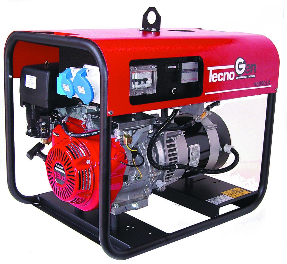tecnogen generatore di corrente tecnogen h8000elx