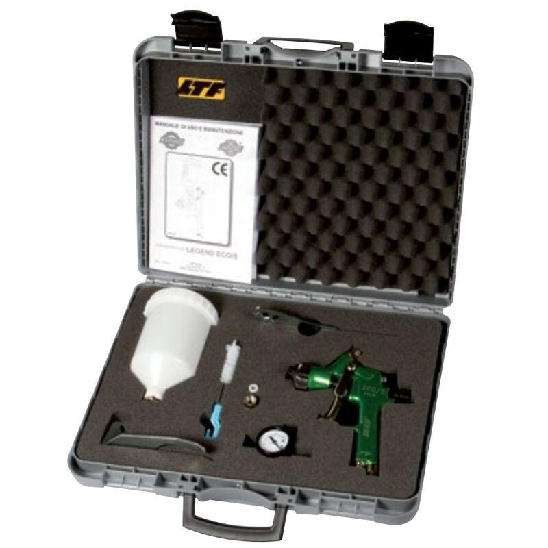 asturo kit aerografo manuale superiore hvlp bassa pressione asturo eco/s