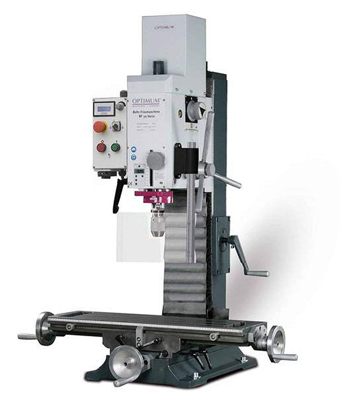 optimum trapano fresatrice optimum bf 30 vario cm3