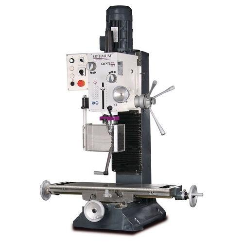 optimum trapano fresatrice con cambio a 2 velocità optimum mb 4