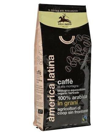 Alce Nero Caffe 100% Arabica Bio Grani