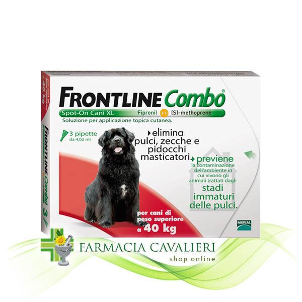 Frontline Combo Per Cani Di Peso Superiori A 40kg 3pip 4,02ml