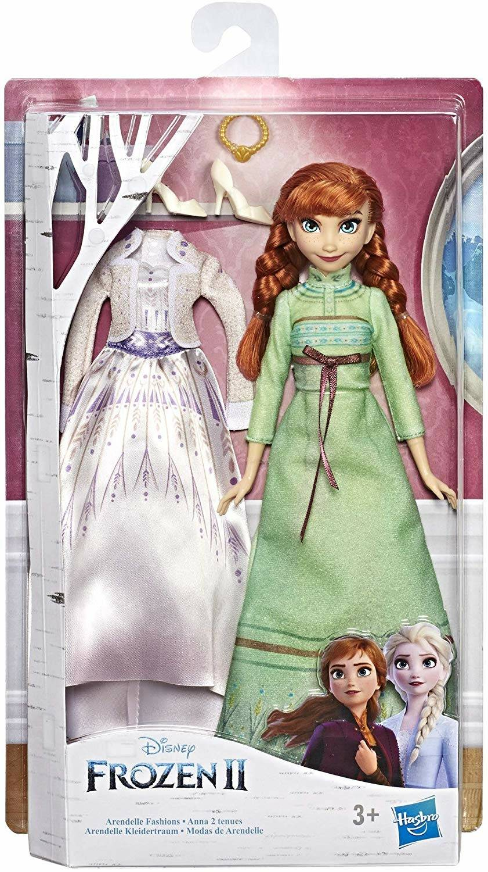 hasbro frozen doll e fashion anna