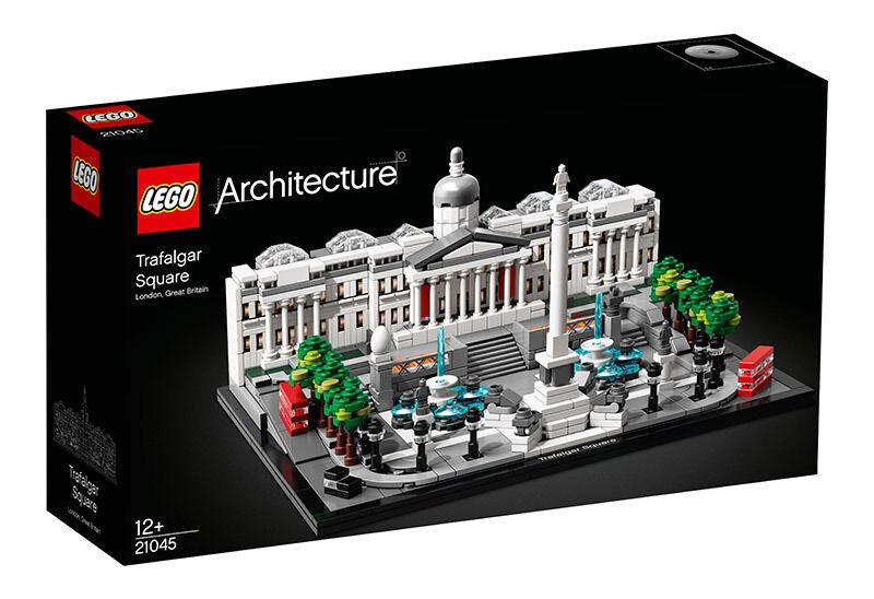 lego architecture (21045). trafalgar square