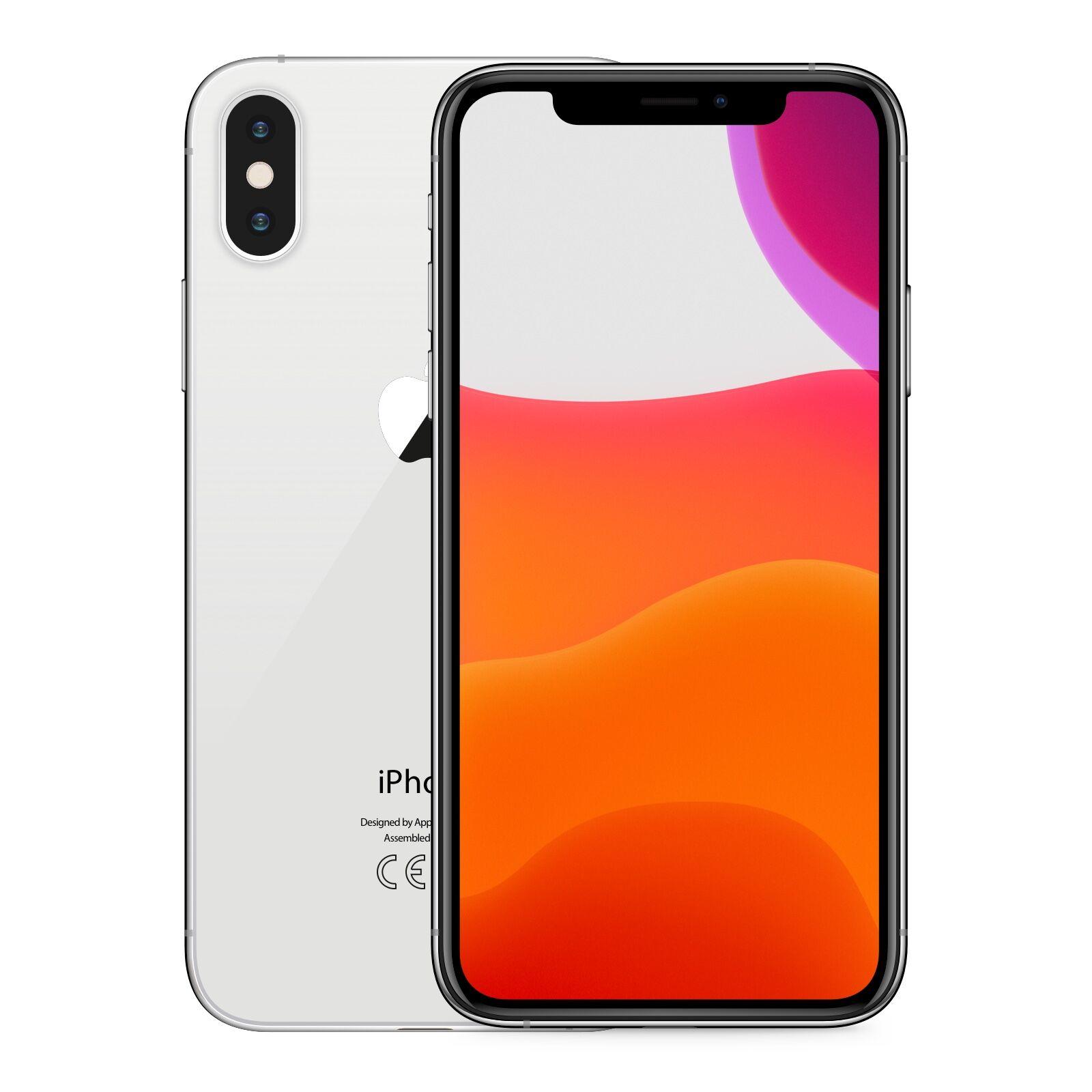 apple iphone xs max 64gb argento