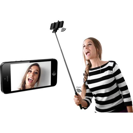 Fresh 'n Rebel Wireless Selfie Stick bastone per selfie Smartphone Ner