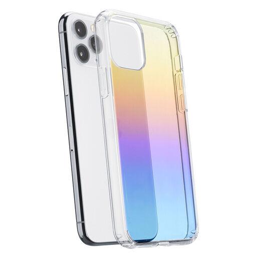 Cellular Line Prisma - iPhone 11 Pro Custodia semi-trasparente con effe